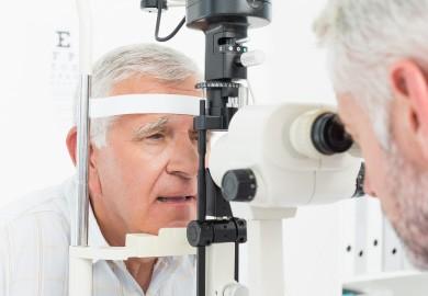 zaćma - badanie wzroku